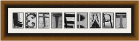 Alphabet Photo Frames