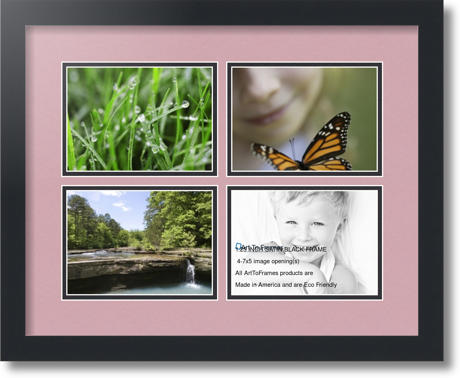 Snap Picture Frames: Collage Picture Frames 5X7 Frame With 6 ...