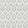 Ikat Vintage Pewter bulletin board design