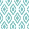 Ikat Aqua bulletin board design